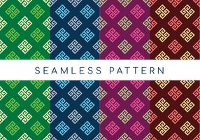 Seamless Geometric Greek Pattern vector