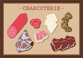 Charcuterie Banner Vector