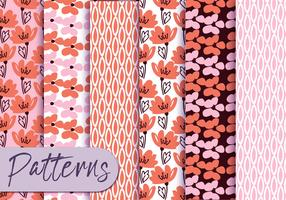 Pastell Blumenmuster Set