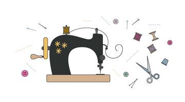Sew vector