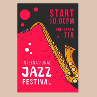 Cartaz do festival de jazz