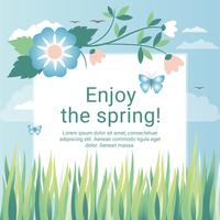 Spring Holiday Vector Illustration