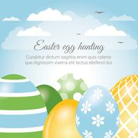 Easter Holiday Vector Elements