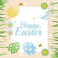 Fond de Pâques Joyeux