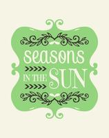 Seasons in the Sun Wall Art Poster
