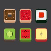 Food App Icon Vector