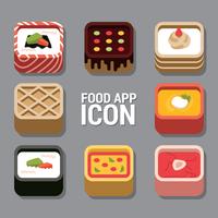 Icône de l'application alimentaire