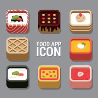 Voedsel App-pictogram