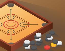 Illustration de Carrom