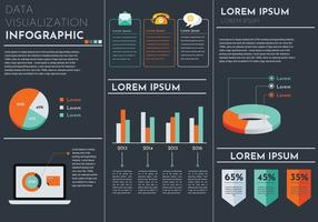 Data Visualization Vector Template