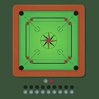 Iconische Carrom-vectoren