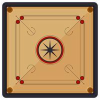 Vecteurs de carrom iconique
