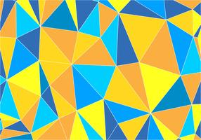 Abstract Triangles Flat Background