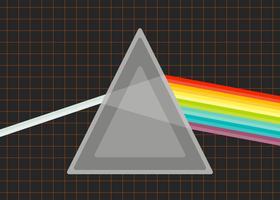 Vetores de prisma proeminentes