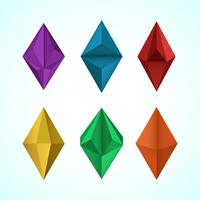 Prism Collection Vector Item Element Illustration
