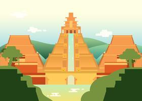 El Dorado, stad van goud illustratie