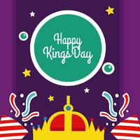 Kings Day vectorillustratie