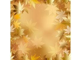 A seamless autumn background, vector illustration.