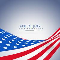 Fondo de la bandera de ola americana