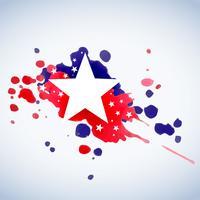 abstrakt amerikansk flagg bakgrund