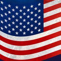 fond de drapeau américain ondulé