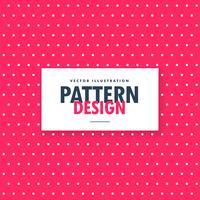 vacker röd bakgrund med vita prickar, polka stilmönster