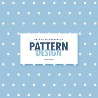 schattige blauwe achtergrond met witte polka cirkel stippen
