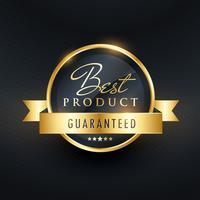 bästa valgar garanti etikett design
