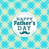 glücklicher Vatertagstext im blauen Hintergrund