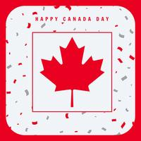 felice giorno del Canada saluto