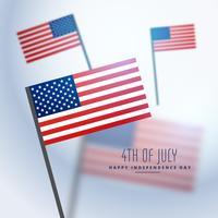Amerikaanse vlaggen achtergrond