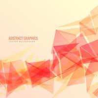 abstrakte geometrische Hintergrundvektordesign