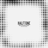 halftone dots background design vector