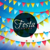 Fondo de celebración de fiesta junina