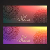 beautiful eid festival banners