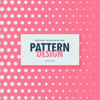 clean dots pattern on pink background
