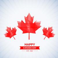 mooie gelukkige Canada dag achtergrond