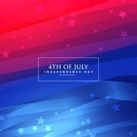 mooie 4 juli achtergrond