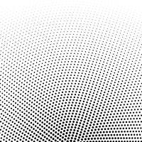fundo de vetor de pontos de meio-tom circular