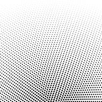 Fondo de vector de puntos de semitono circular