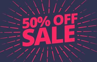 vektor försäljning banner design mall