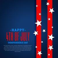Fondo del día de la independencia americana