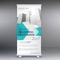 business marketing roll up banner design template