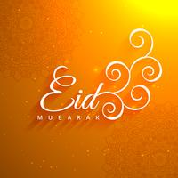 beautiful eid festival greeting