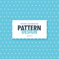 blauwe polka dots patroon achtergrond