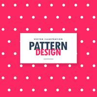 roze polka dots patroon achtergrond