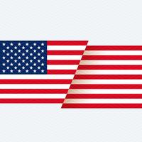 Hintergrund der amerikanischen Flagge