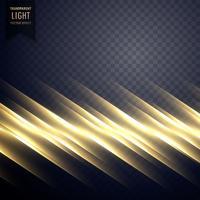 elegant guld ljus linje effekt bakgrund