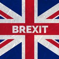 Förenade kungariket utträde från europeisk union flagga