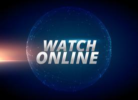 Bekijk online internet nieuws conceptontwerp